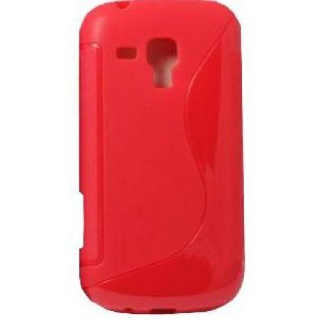 """Силиконовый чехол EXPERTS """"TPU Case"""" №1, для  Samsung i8190 Galaxy S3 mini, красный"""