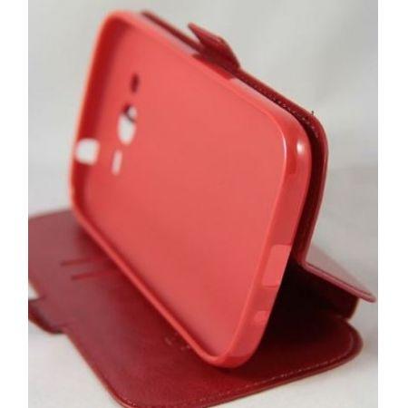 "Сумка-книжка EXPERTS ""Slim Book Case"", кожзам, для Samsung J1/J100,белая"