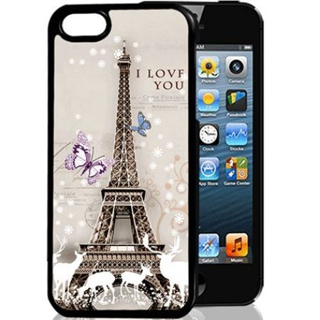 Силиконовый чехол Jettape TPU HQ Case для Samsung Galaxy C7 (C7000),3D Paris