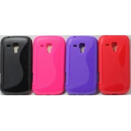 """Силиконовый чехол EXPERTS """"TPU Case"""" №1 для Samsung G7102 Galaxy Grand 2 Duos, розовый"""