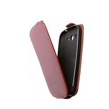 Сумка-книжка Flexy, кожзам, для  LG L65 D285, черная