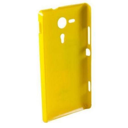 Накладка-пластик глянец, для  Samsung i8190 Galaxy S3 mini, желтый