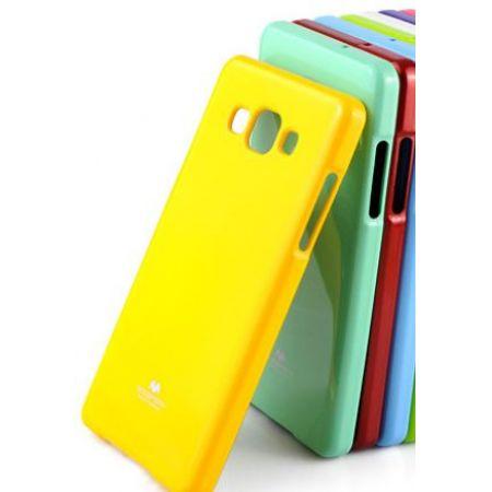 Накладка-пластик глянец, для Samsung n9005 Note 3, желтый
