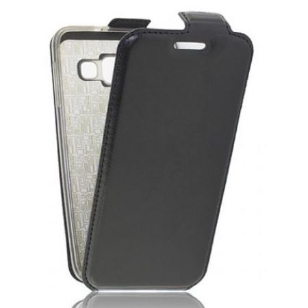 "Сумка-книжка EXPERTS ""Slim Flip Case"", кожзам, для LG X Power (K220DS), черный"