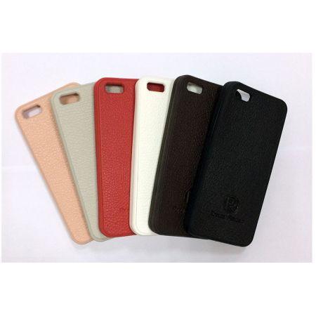 """Чехол EXPERTS """"PR"""", силикон+кожзам, Samsung i9500 Galaxy S IV, светло-розовый"""