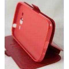 "Сумка-книжка EXPERTS ""Slim Book Case"", кожзам, для Samsung J1/J100, красная"