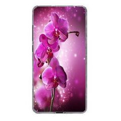 Силиконовый чехол Jettape TPU HQ Case для Samsung Galaxy J1/J120 (2016г),орхидея