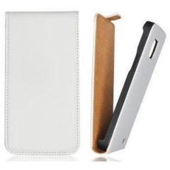 LG L5 E612/E615, книга вертикаль FLIP PREMIUM, белый