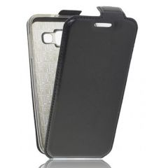 "Сумка-книжка EXPERTS ""Slim Flip Case"", кожзам, для HTC 601,черный"