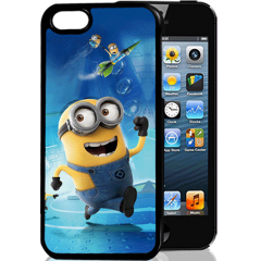 Силиконовый чехол Jettape TPU HQ Case для Samsung Samsung Note 4 N910,3D blue minion
